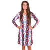 Tribal Triangles Aubrey Dress