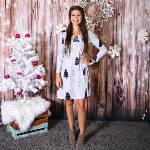 Whimsical Snow Aubrey Dress
