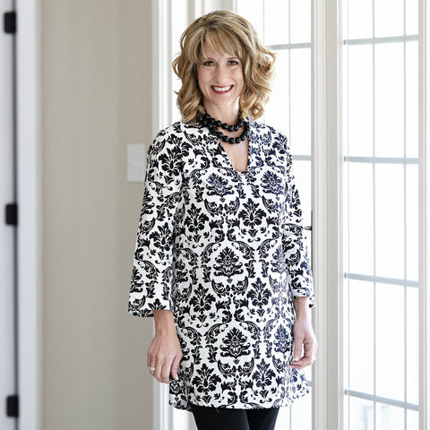Damask Tess Tunic