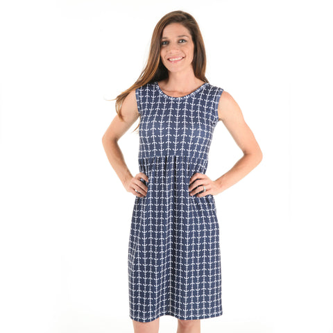 Anchors Jade Tank Dress