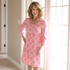 Pink Lattice Olivia Dress
