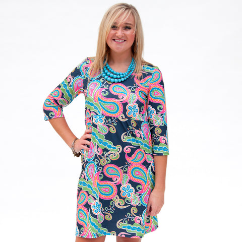 Jewel Paisley Olivia Dress
