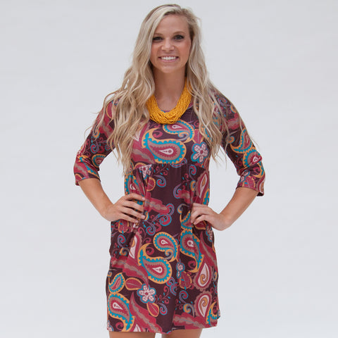 Ruby Paisley Olivia Dress