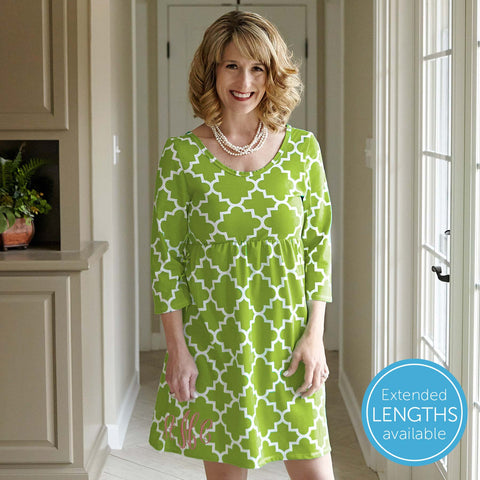 Lattice Olivia Dress