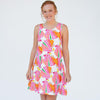 Shell Rose Swing Dress