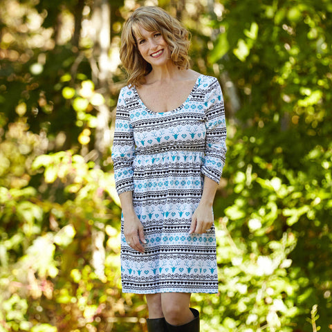 Fairisle Olivia Dress