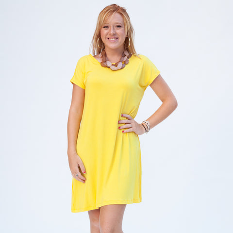 Bright Yellow Willa Dress