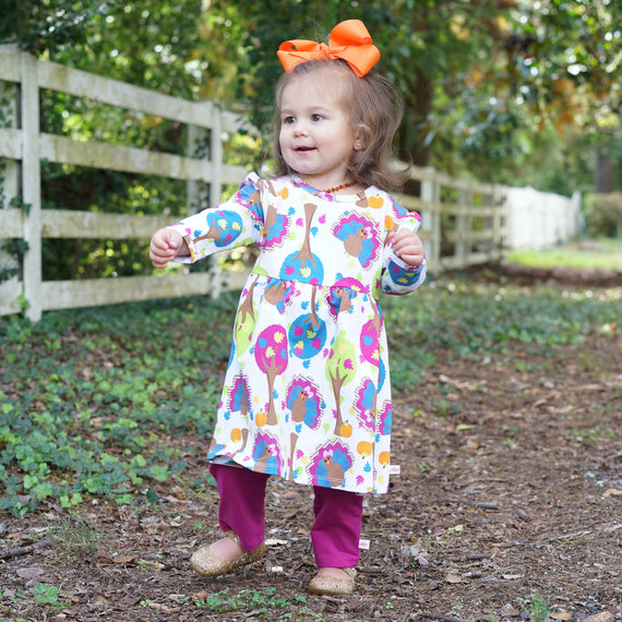 Paisley Olivia Dress – Lolly Wolly Doodle