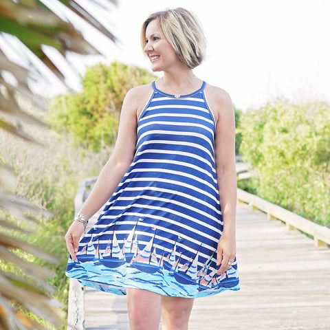 Sailboat Lilian Dress