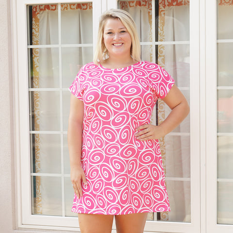 Swirl Willa Dress