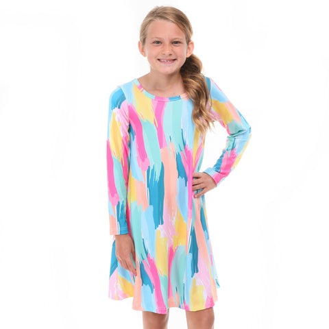 Painted Charlee Dress