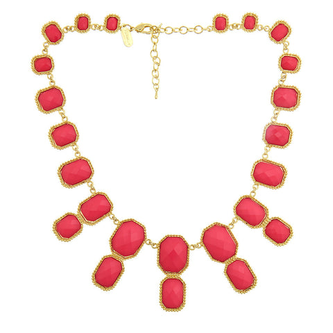Hot Pink Kelly Necklace