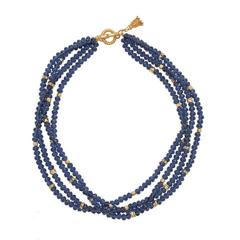 Navy Zoe Necklace