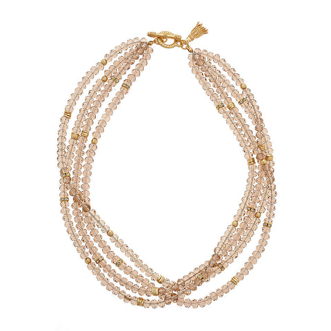Champagne Zoe Necklace