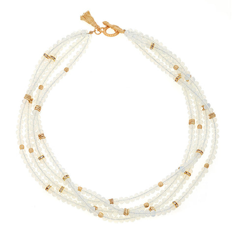 Clear Zoe Necklace