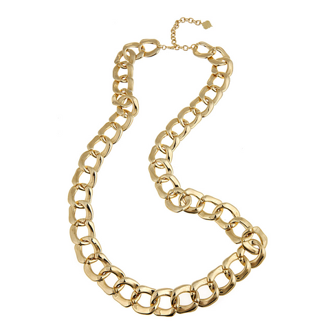 Long Gold Shelby Necklace