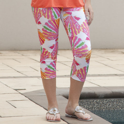 Ladies Shell Arden Capri Leggings