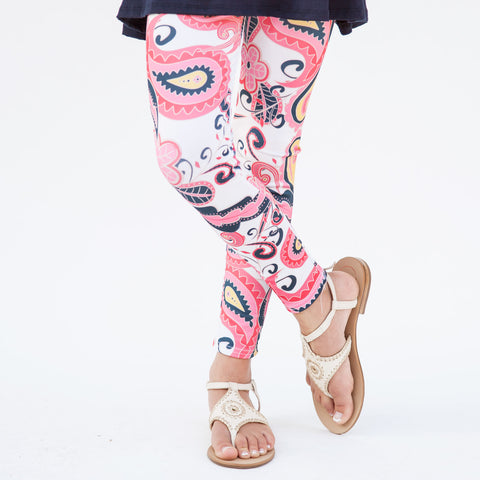 Girls Paisley Arden Leggings