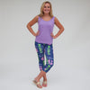 Ladies INITIAL & NAME Arden Capri Leggings