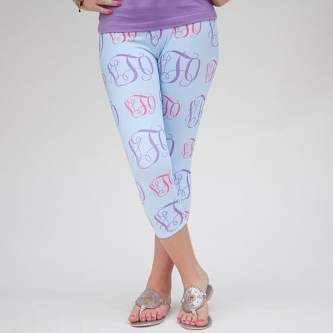 Ladies INITIAL Arden Capri Leggings
