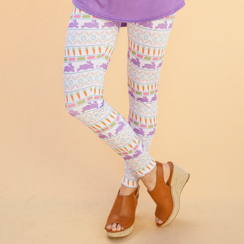 Ladies Aztec Bunny Arden Leggings