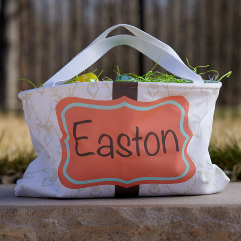 Deer Name Easter Basket