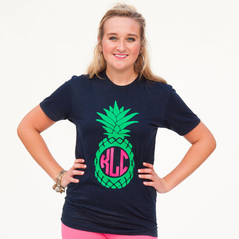 Pineapple Initials Tee