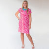 Pink Swirl Willa Dress