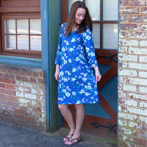 Dogwood Swirl Olivia Dress