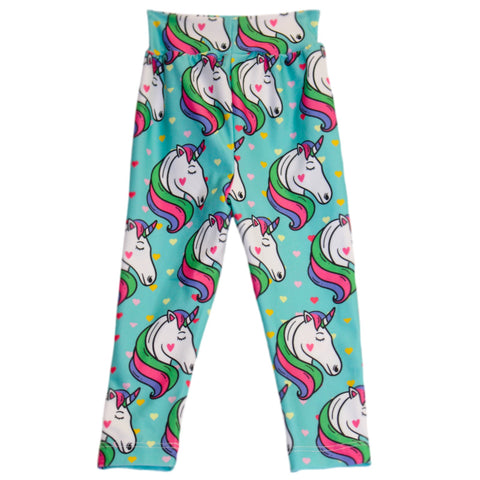 Baby Girls Unicorn Heart Ireland Leggings