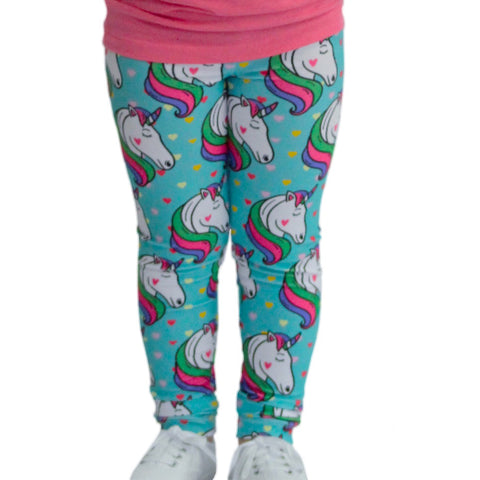 Girls Unicorn Heart Arden Leggings