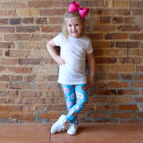 Girls Donut Sprinkle Arden Leggings