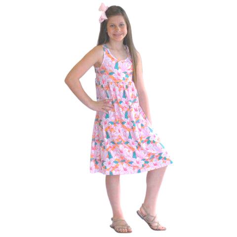 Hawaiian Flamingo Jada Tank Dress