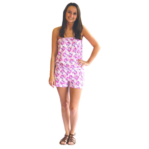 Watercolor Crabs Amelia Romper