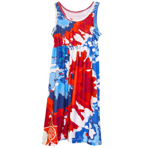 Tye Dye Swirl Jada Tank Dress