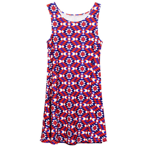 Tribal USA Rose Swing Dress