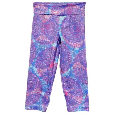 Colorful Doily Arden Capri Leggings