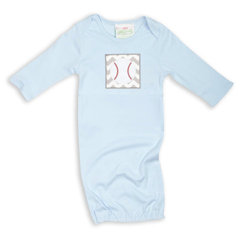 Light Blue Cotton Layette