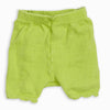 Baby Girl Lime Ruffle Bloomer
