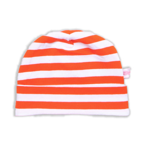 Orange Stripe Hat