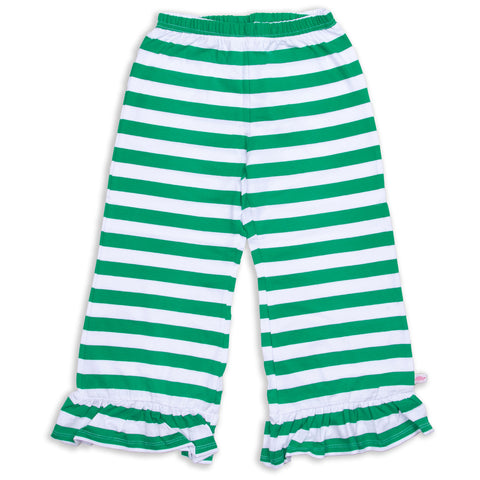 Kelly Green Stripe Pant