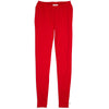 Ladies Red Pant Leggings