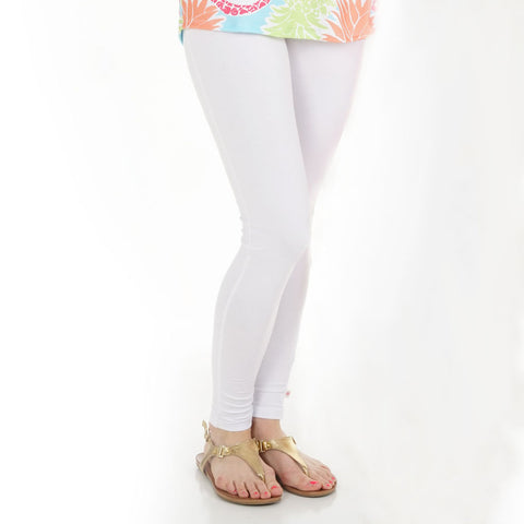 Ladies White Pant Leggings