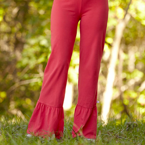 Red Coral Pants