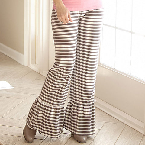 Mocha Stripe Pants