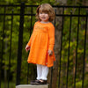 Orange Empire Dress