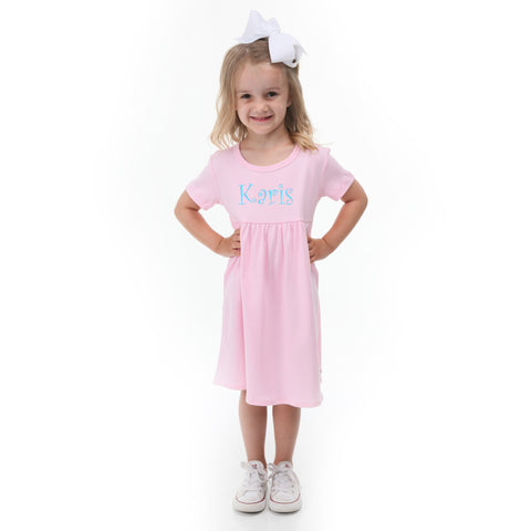 Light Pink Empire Dress