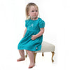 Teal Dress with Bloomers