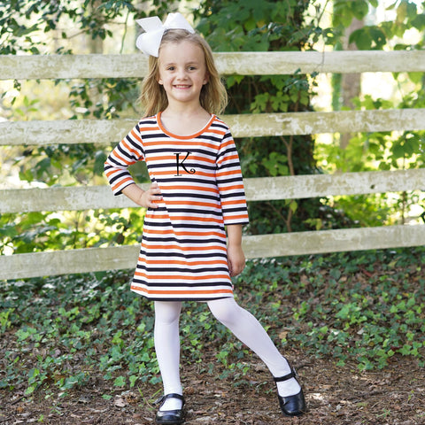 Halloween Stripe Dress
