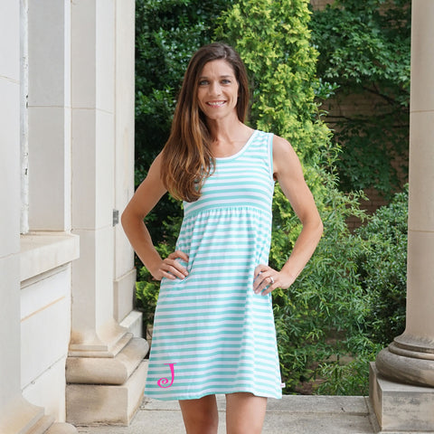 Tiffany Stripe Tank Dress